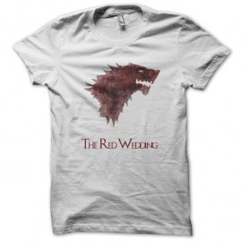 Shirt le trone de fer episode 9 saison 3 red wedding games of thrones blanc pour homme et femme