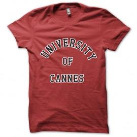 Shirt Université de cannes la cité de la peur les nuls simon jeremy rouge pour homme et femme