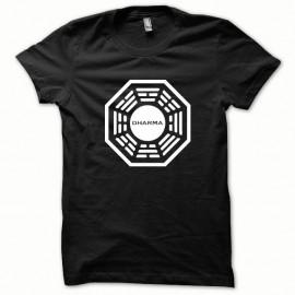 Shirt Dharma série tv blanc/noir pour homme et femme