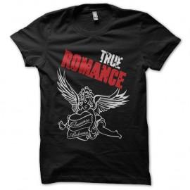 Shirt True Romance ange noir pour homme et femme