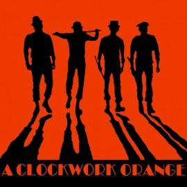 Shirt A clockwork orange version américaine noir pour homme et femme