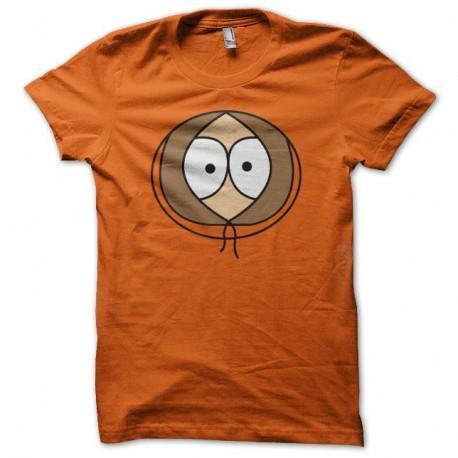 Shirt South Park Kenny face orange pour homme et femme