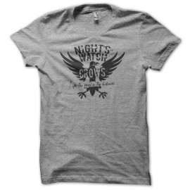 Shirt Night's Watch gris pour homme et femme
