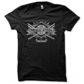 Shirt Hanzo Steel katana noir pour homme et femme