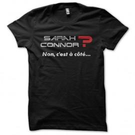 Shirt Sarah Connor La cité de la peur noir pour homme et femme