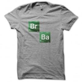 Shirt Breaking bad - Brome Baryum gris pour homme et femme