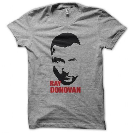 Shirt Ray Donovan visage silhouette gris pour homme et femme