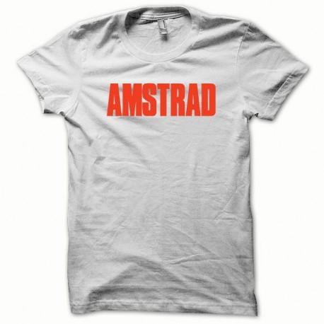 Shirt Amstrad rouge/blanc pour homme et femme