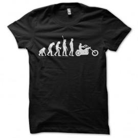 Shirt evolution moto biker type sons of anarchy noir pour homme et femme