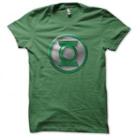 Shirt green lantern logo moderne vert pour homme et femme