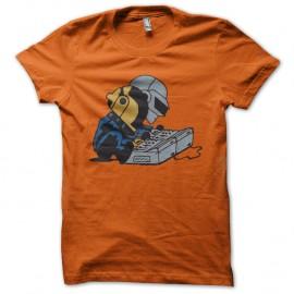 Shirt daft punk baby orange pour homme et femme