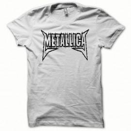 Shirt Metallica noir/blanc pour homme et femme