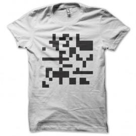 Shirt electro techno minimale Autechre blanc pour homme et femme