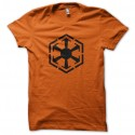 Shirt sith empire star wars orange pour homme et femme