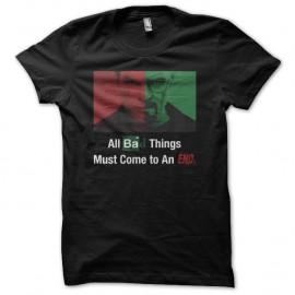 Shirt Dexter Breaking Bad la Fin noir pour homme et femme