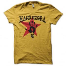 Shirt Mano Negra jaune pour homme et femme