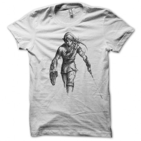 Tee-Shirt Zelda Dessin De Link Clothing For