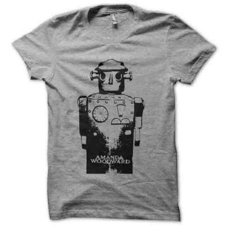 Shirt amanda woodward gris pour homme et femme