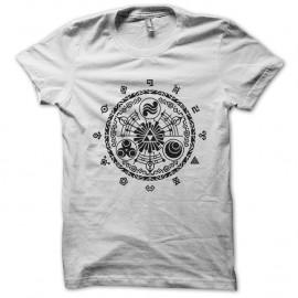 Shirt the legend of zelda skyward sword gate of time blanc pour homme et femme