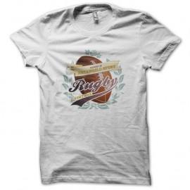 Shirt Rugby Vintage blanc pour homme et femme