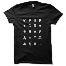 Shirt cinemask en noir pour homme et femme