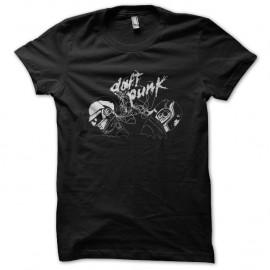 Shirt Daft Punk électron noir pour homme et femme
