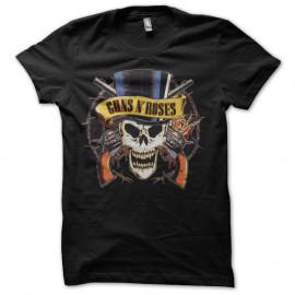 Shirt guns n roses skull noir pour homme et femme