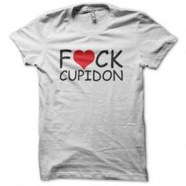 Shirt cupidon amour blanc pour homme et femme