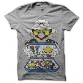 Shirt Mario Dealer - Gris pour homme et femme