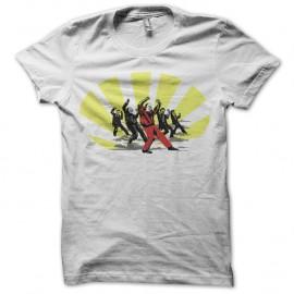 Shirt michael jackson funny dance blanc pour homme et femme