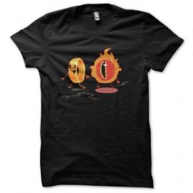 Shirt sauron et l'anneau unique noir pour homme et femme