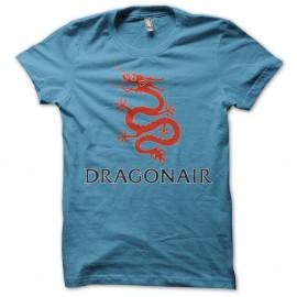 Shirt dragon air bleu clair pour homme et femme