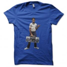 Shirt kid guetto blaster bleu royal pour homme et femme
