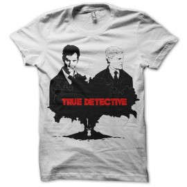 Shirt True Detective fan art blanc pour homme et femme