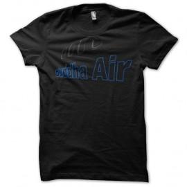Shirt Buddha Air nepal airlines noir pour homme et femme