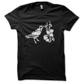 Shirt colibri noir pour homme et femme