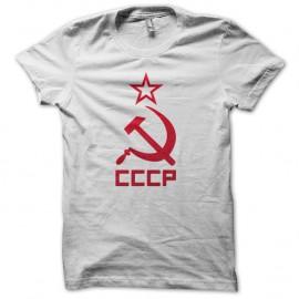 Shirt CCCP soviet blanc pour homme et femme