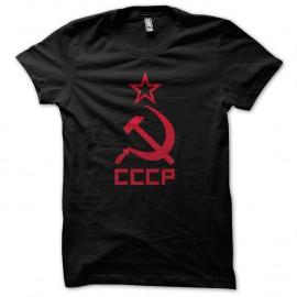 Shirt CCCP soviet noir pour homme et femme