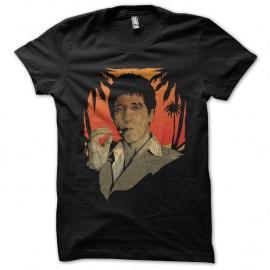 Shirt tony montana SCARFACE noir pour homme et femme