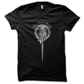 Shirt GoT Hand of the King Noir pour homme et femme