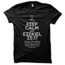 Shirt Pulp Fiction Ezechiel Noir pour homme et femme