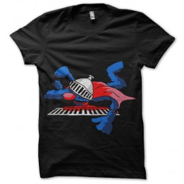 Shirt Super Grover noir pour homme et femme