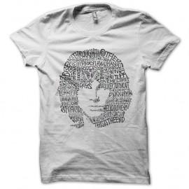 Shirt The Doors Jim Morrison titres chansons blanc pour homme et femme