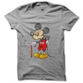Shirt papy mickey gris pour homme et femme