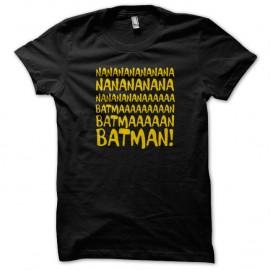 Shirt Batman la musique Noir pour homme et femme