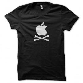 Shirt apple bone noir pour homme et femme