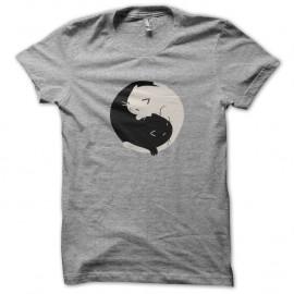 Shirts chats en ying yang pour homme et femme