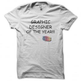 Shirt Graphic Designer Comic Sans blanc pour homme et femme