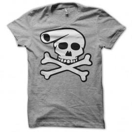 Shirt dead lucien banane squeletique Franck Margerin gris pour homme et femme