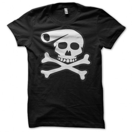 Shirt dead lucien banane squeletique Franck Margerin noir pour homme et femme